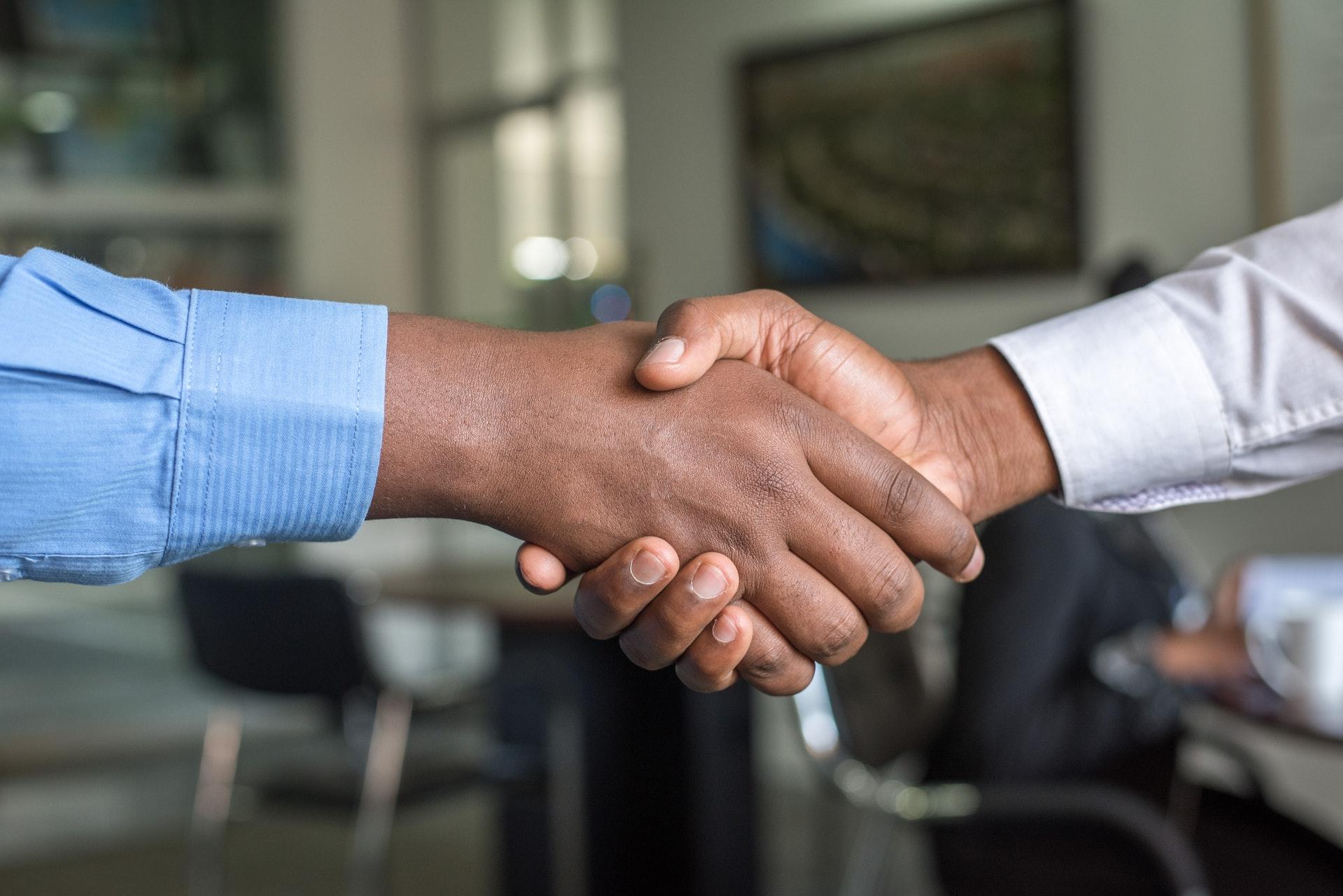 The Ashe Academy Giving Tuesday, Social Good, Handshake