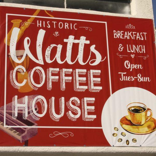 The Watts Coffee House Los Angeles, CA