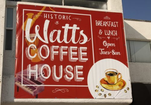 The Watts Coffee House Los Angeles, CA