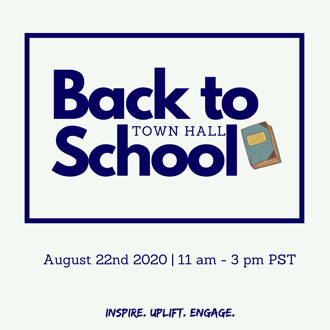 The Ashe Academy Back to School Town Hall