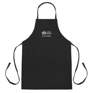 Black Good Trouble Apron The Ashe Academy Store