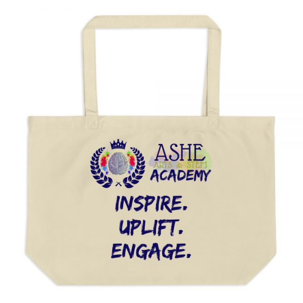 Tan Tote Bag without background The Ashe Academy Store