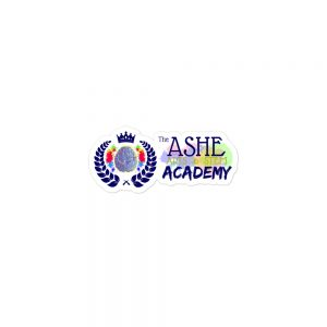 3x3 The Ashe Academy Brand Sticker The Ashe Academy Store