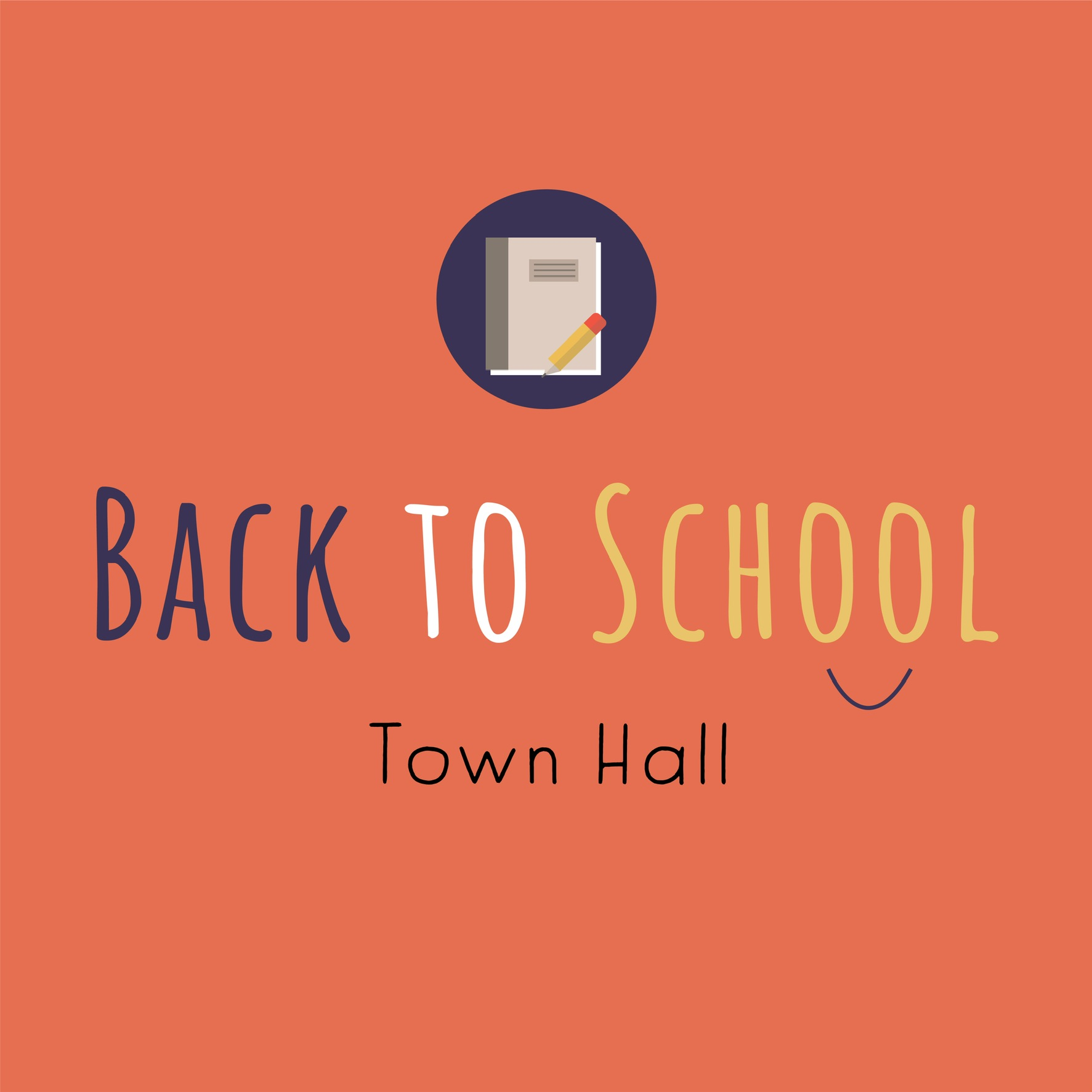 Back to School Town Hall 2021 Event